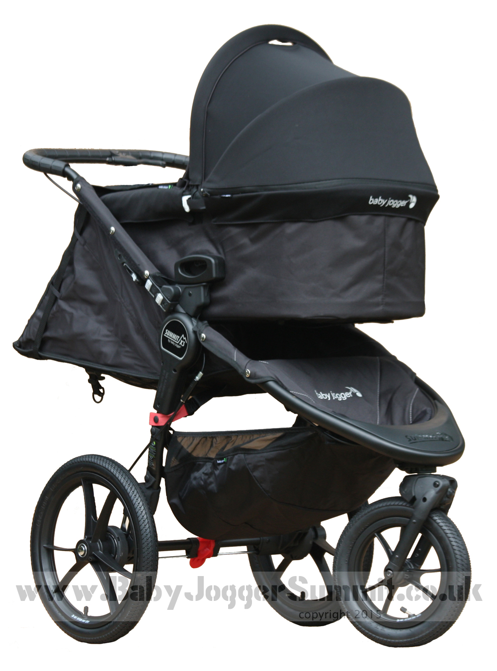 Baby Jogger Summit X3 Deluxe Carrycot